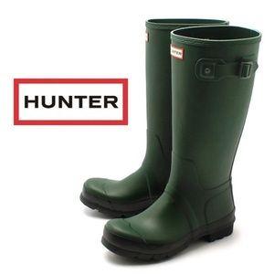 Forest Green Hunter Rain Boots